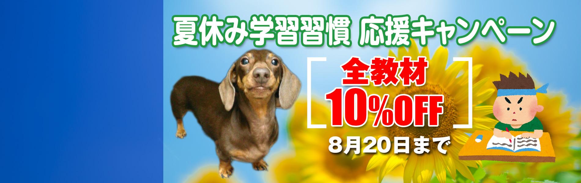 夏休み学習習慣 応援キャンペーン